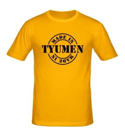 Мужская футболка Made in Tyumen