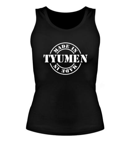 Женская майка Made in Tyumen