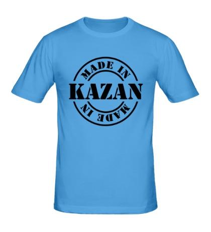 Мужская футболка Made in Kazan