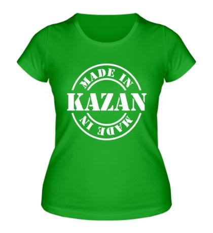 Женская футболка Made in Kazan