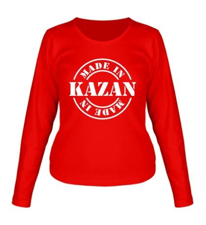 Женский лонгслив Made in Kazan