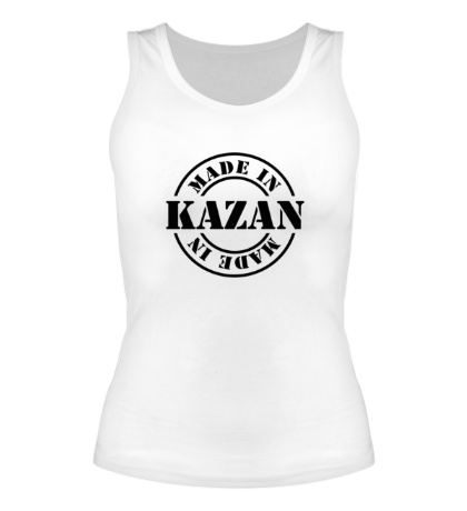 Женская майка Made in Kazan