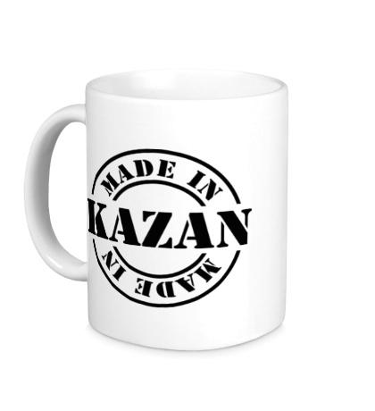 Керамическая кружка Made in Kazan