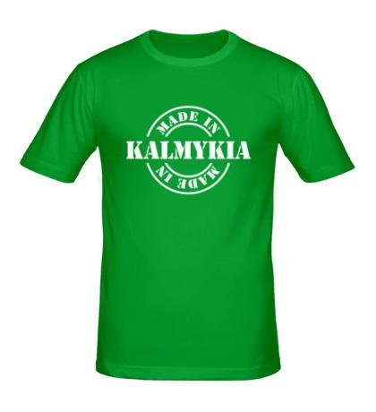 Мужская футболка Made in Kalmykia