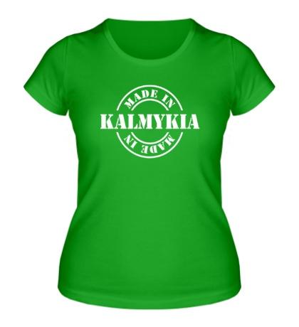 Женская футболка Made in Kalmykia