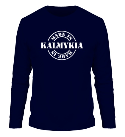 Мужской лонгслив Made in Kalmykia