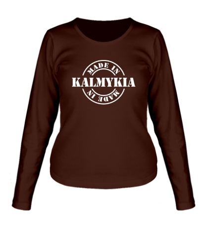 Женский лонгслив Made in Kalmykia