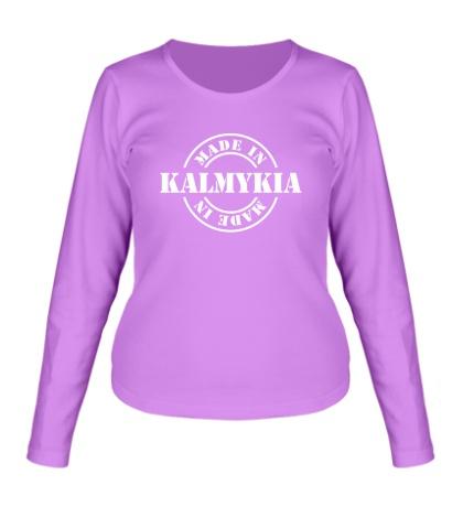Женский лонгслив Made in Kalmykia