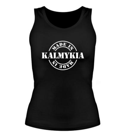 Женская майка Made in Kalmykia