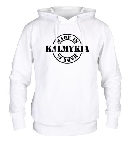 Толстовка с капюшоном Made in Kalmykia