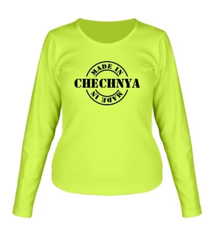 Женский лонгслив Made in Chechnya