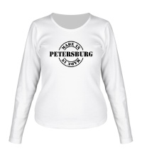 Женский лонгслив Made in Petersburg