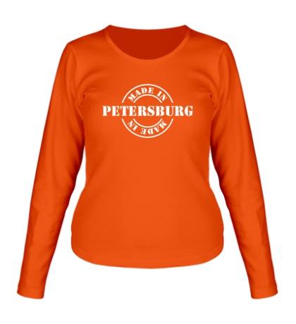Женский лонгслив Made in Petersburg