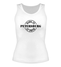 Женская майка Made in Petersburg