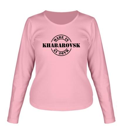 Женский лонгслив Made in Khabarovsk