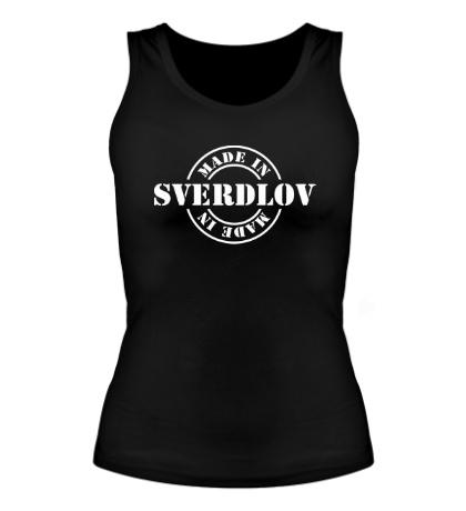 Женская майка Made in Sverdlov