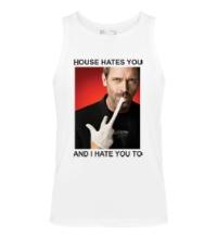 Мужская майка House Hates You