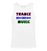 Мужская майка Trance music
