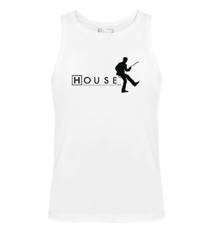 Мужская майка House MD: Dance
