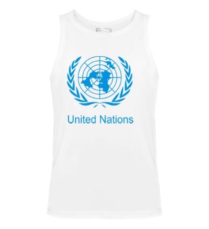 Мужская майка Эмблема ООН