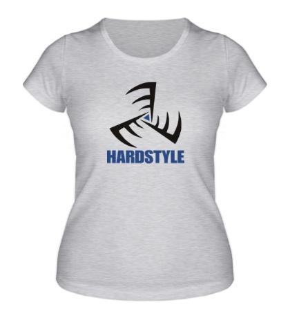 Женская футболка «Hardstyle»