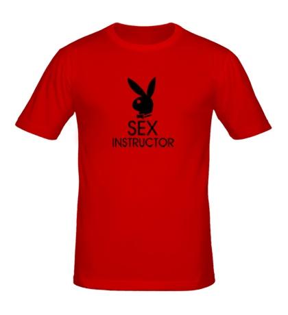 Мужская футболка Sex Instructor