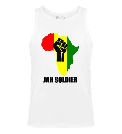 Мужская майка Jah Soldier