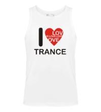 Мужская майка Trance we Love