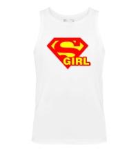 Мужская майка Supergirl