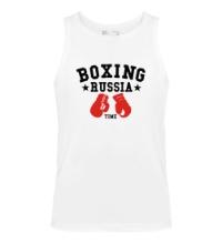 Мужская майка Boxing Russia Time