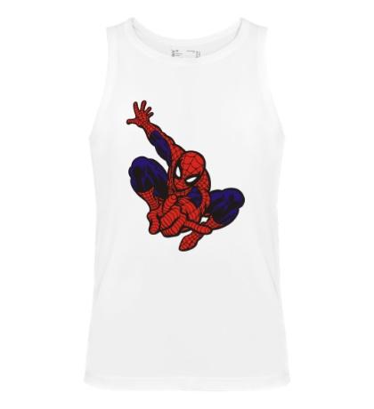 Мужская майка Fast Spider-Man