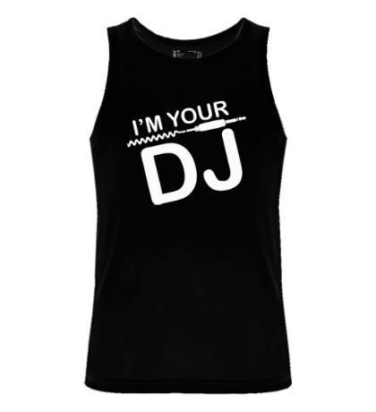 Мужская майка Im your DJ