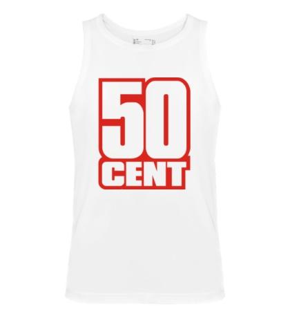 Мужская майка 50 cent