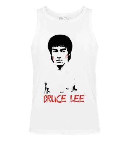 Мужская майка Bruce Lee: Young fighter