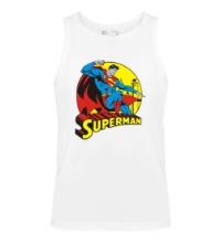 Мужская майка Faster Superman
