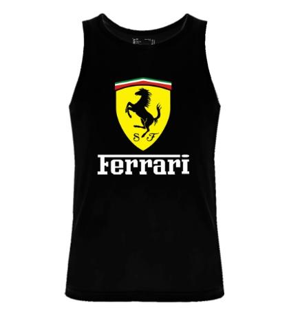 Мужская майка Ferrari Shield