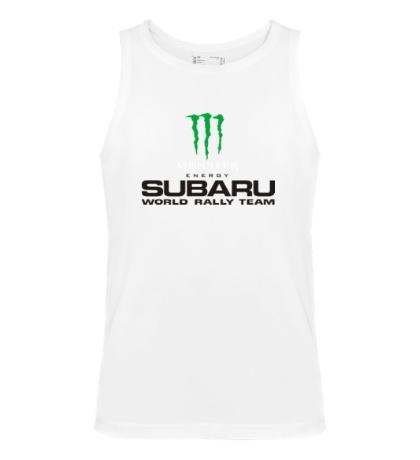 Мужская майка «Subaru Rally Team»