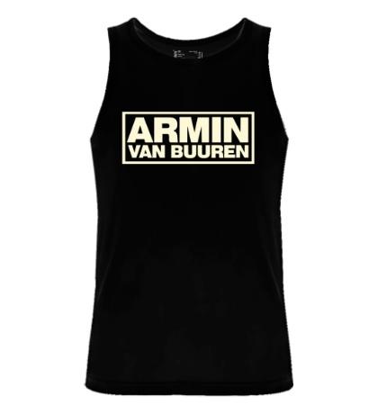 Мужская майка Armin van Buuren Logo Glow