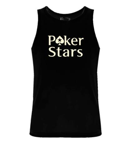 Мужская майка Poker Stars Glow