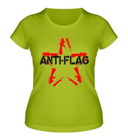 Женская футболка Anti-Flag