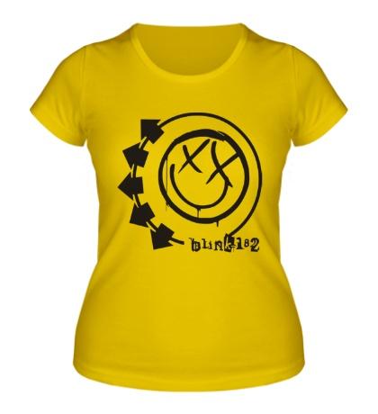 Женская футболка Blink-182 Symbol
