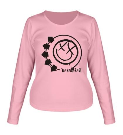 Женский лонгслив Blink-182 Symbol