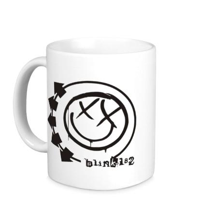 Керамическая кружка Blink-182 Symbol