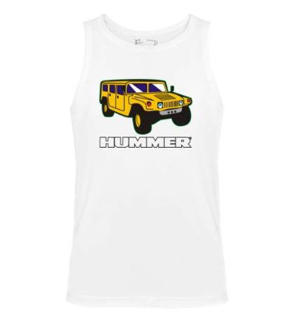 Мужская майка Hummer Auto