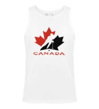 Мужская майка Canada Hockey