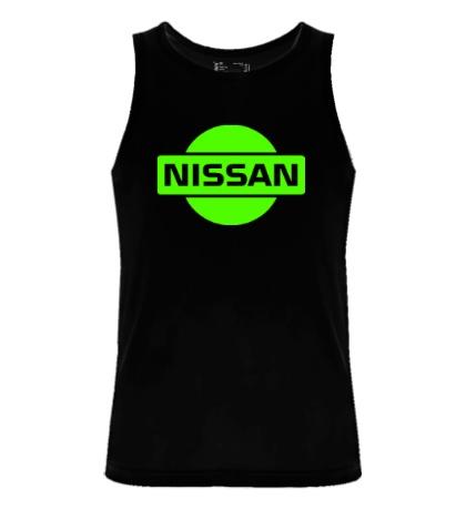 Мужская майка Nissan Logo Glow
