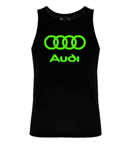 Мужская майка Audi Glow