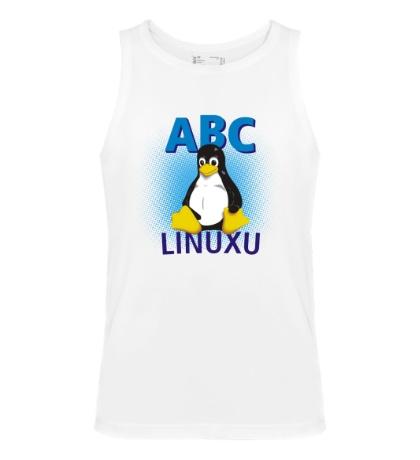 Мужская майка ABC Linuxu