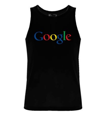 Мужская майка Google