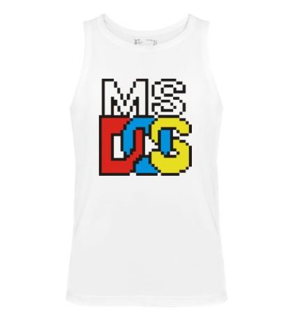 Мужская майка MS DOS